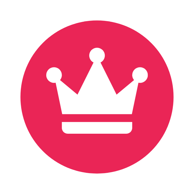 The SEO Kings favicon of a red crown.